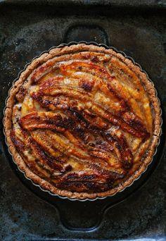 Banana Toffee Tart | Golubka Kitchen | Bloglovin'
