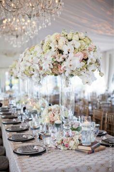 white wedding - florals