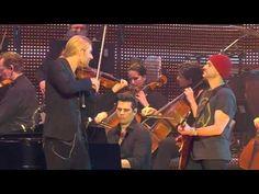 """Live from Hannover - David Garrett plays Viva la Vida from his new Album """"Music""""!"""