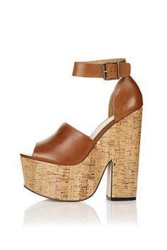 loud platform sandals