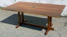 George Nakashima trestle table