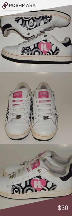Harajuku Lovers by Gwen Stefani Sneakers Harajuku Lovers by Gwen Stefani  Multi Colored  Geometric Graphic  Sneakers  Size 8  These shoes are in great condition. There is slight creasing in the toe box (view pictures) Harajuku Lovers Shoes Sneakers