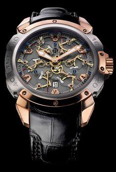 TNT Royal Retro Sapphire, Pierre DeRoche Timepieces and Luxury Watches on Presentwatch