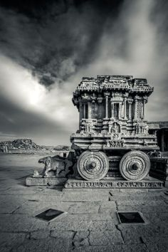 The Stone Chariot, Vittala Temple campus Shrine, Hampi, Karnataka, India Copyright: Vijay Nanda Indian Temple Architecture, India Architecture, Architecture Design, Ancient Architecture, Beautiful Architecture, Gothic Architecture, Hampi India, Karnataka, Rajasthan India