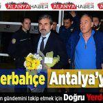 Fenerbahçe, Antalya'ya Geldi  Fenerbahçe Antalya'ya Geldi. #süperlig #fenerbahçe #aykutkocaman #antalyayageldi #devrearasıkampı #alanyahaber https://goo.gl/iPXBto