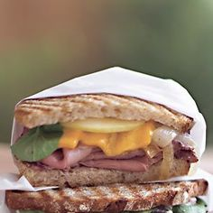 Roast Beef and Caramelized Onion Panini | Williams-Sonoma