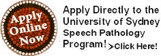 Learn how to apply to the University of Sydney Speech Pathology Program!