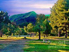 Thousand Trails Soledad Canyon Acton California Mountains