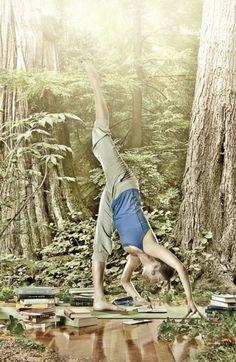 wild in the woods indeed.... http://365daysyoga.tumblr.com/post/19460054768/teachingliteracy-wildinwoods