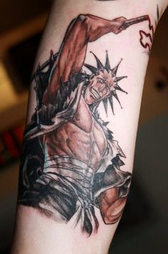 Bleach sleeve part II by marielleroyseth on DeviantArt Nerd Tattoos, Anime Tattoos, Body Art Tattoos, Sock Tattoo, Arm Tattoo, Sleeve Tattoos, Bleach Tattoo, Hannya Tattoo, Wicked Tattoos