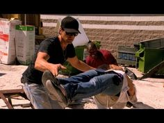 ▶ Criss Angel BeLIEve: Criss Impales A Woman With A Spike (On Spike) - YouTube