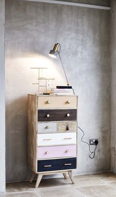 Take the lead and style up your space with our Penelope Wooden Chest of Drawers.