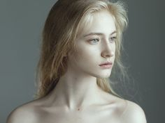 girl, blonde, and pale Bild