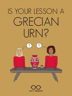 Far too many students are doing projects that look creative but offer almost no opportunity for real learning. Time for the Grecian Urns to go. #CultofPedagogy