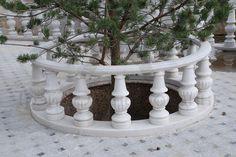 #Известняк #Фасады #НатуральныйКамень #ТЭХ Балюстрада из известняка http://mircamnya.ru/fasad_sale/