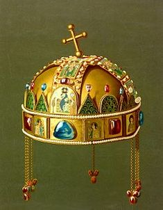 Kaiser Franz, Byzantine Gold, Kunst Online, Royal Jewelry, Ancient Jewelry, Wallpaper Pictures, Crown Jewels, Medieval, 1