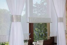 Firany Gotowe Firanki Panele Ekrany Zasłony Rolety 7518060527 - Allegro.pl - Więcej niż aukcje. Decor, Curtains, Windows, Roman Shade Curtain, Interior, Home Decor, Window Treatments