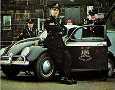 Police de Saint John VW Beetle Police