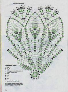 Veronica Crochet Y Tricot.: Paraguas A - Diy Crafts - Marecipe Free Crochet Doily Patterns, Crochet Doily Diagram, Crochet Circles, Crochet Chart, Crochet Motif, Crochet Designs, Crochet Doilies, Filet Crochet, Crochet Diy