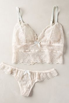 Eberjey Traced Bralette - anthropologie.com