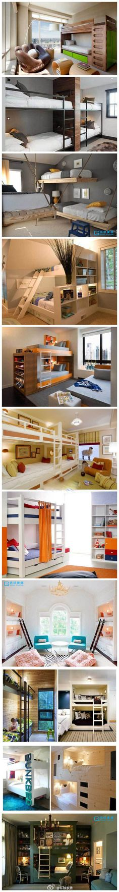 Who said kids rooms with bunk beds had to be boring?