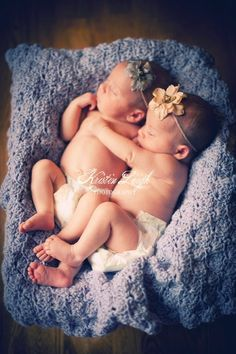 Photography Prop Blanket for Twin Babies in Lavender by BubbiesBlankies, $175.00