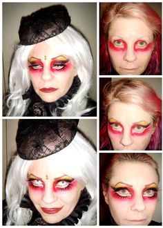 Ideas for gothic/halloween/ friday the make-up Halloween Friday The 13th, Gothic Halloween, Victorian Gothic, Horror, Halloween Face Makeup, Make Up, Ideas, Makeup, Beauty Makeup