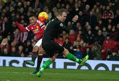 Barclays Premier League | 2 February 2016 | Old Trafford | Attendance: 75,234 | Scorers: Lingard 14', Martial 23', Rooney 53'