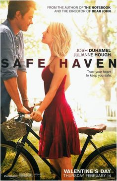 Safe Haven - I don't usually like Nicholas Sparks' movies, but I liked this one. See Movie, Movie List, Movie Tv, Movies Showing, Movies And Tv Shows, Film Romance, Nicholas Sparks Movies, Bon Film, Romantic Films