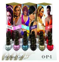 OPI Summer 2013 Bond Girls Collection – Info & Photos – Beauty Trends and Latest Makeup Collections Opi Nail Polish, Opi Nails, Nail Polishes, New Bond Girl, James Bond Girls, Sand Collection, Opi Collections, Opi Nail Colors, Manicure