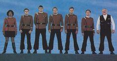 Your original Star Trek bridge crew. #Discovery