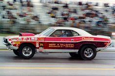 "Vintage Drag Racing - Biily 'The Kid"" Stepp's Pro Stock Dodge Challenger"
