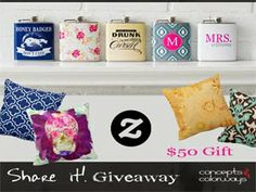 Join & win $50 Zazzle Gift Card - International Giveaway