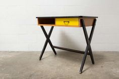 Coen de Vries Desk for Devo The Hague 1954 | From a unique collection of antique and modern desks and writing tables at http://www.1stdibs.com/furniture/tables/desks-writing-tables/