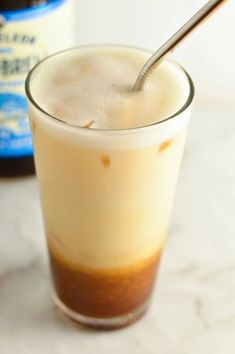 Iced Maple Cold Brew Latte