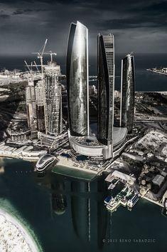 ETIHAD TOWERS - ABU DHABI | Abu Dhabi's newest and poshest destinations; ETIHAD TOWERS!