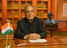 India has a Federal Republic. This is their president Pranab Mukherjee.