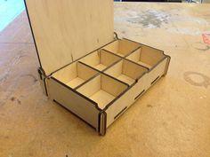 Znalezione obrazy dla zapytania wood key holder cnc laser