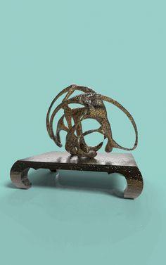 台灣廟會系列2-狂鼓-動畫秀  雕塑:村田(TSUEN_TIEN) 羅芙設計公司(ROIFDESIGN CO., LTD.)