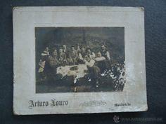 GALICIA.LUGO.MONDOÑEDO. 'COMIDA CAMPESTRE' FOTOGRAFIA ARTURO LOURO 1902