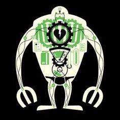 Visible Robot t-shirt design