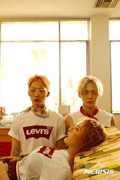 triple h album jacket photos Kpop Girl Groups, Kpop Girls, K Pop, Hyuna Triple H, Hyuna Kim, Hip Hop, E Dawn, Flavio, Pentagon