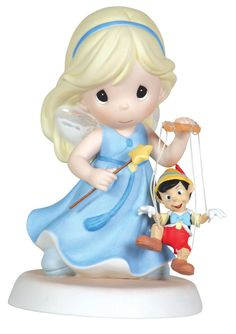 Precious Moments:  Your Love Brings Out the Good in Me (Pinocchio and the Blue Fairy)