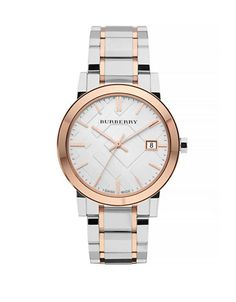 The City Analog Two-Tone Watch | Hudson's Bay