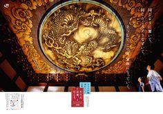 「そうだ 京都、行こう。」2007年【夏】妙心寺 同じように驚いて、同じところでうなずいて。そうして、家族になっていく。