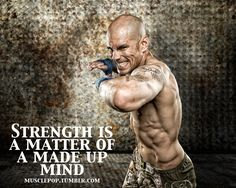Fitness Encouragement. Mind over matter
