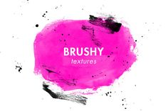 Brushy Textures by Molly Jacques on Creative Market