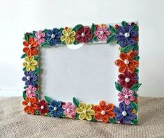 Picture of DIY Paper Quilled Photo Frame