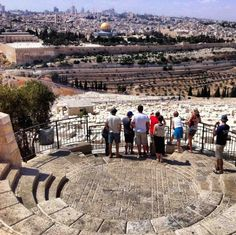 Jerusalem Holy City in Israel and one of the oldest cities in the world.
