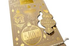 To celebrate the 2014 holiday season, we went back to our roots and designed the thing we love most: gorgeous, tactile, printed products with a message to share. Foil-pressed gold on luxurious French paper, custom die cuts and gold-laced twine all come together to help create that wonderful feeling you get when you receive a gift from someone who took the time to select it just for you.